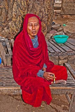 Monk_, Mingun, Myanmar 2007