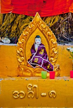 Tiny Buddha, Yangon 2008