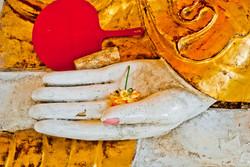 Buddha Hand, Shwedagon Pagoda, Yangon 2009