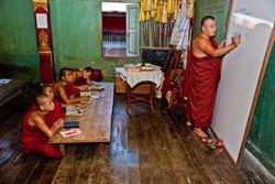 Monastery School, Inle Lake, Myanmar 2008