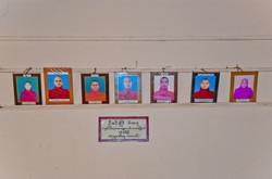 Photos of Monks, Monastery, Yangon 2008