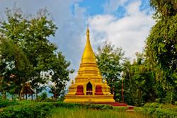 Pagoda, near Kyaing Taung, Myanmar 2008