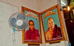 Monk Photos in Monastery, Yangon 2009