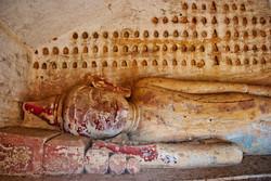 Reclining Buddha, Hpo Win Daung Caves, near Monywa, Myanmar 2007