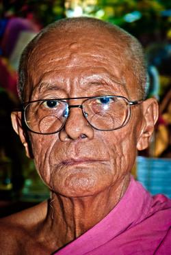 Monk, Yangon 2008