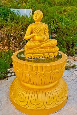 Golden Buddha, Kalaw, Shan State, Myanmar 2007