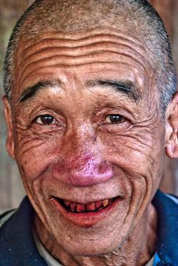 Man with Betel Nut Teeth, near Kyaing Taung, Myanmar 2008