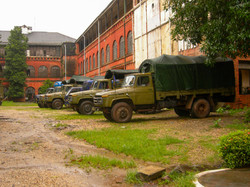 Military Trucks, Yangon 2007
