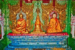 Buddhas, Shwedagon Pagoda, Yangon, Shwedagon Pagoda, Yangon 2010