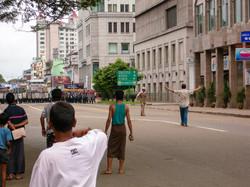 September 2007 Demonstrations, Yangon 2007-4
