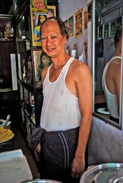Butter Seller, Yangon 2010