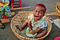 Crying Baby, Yangon 2009