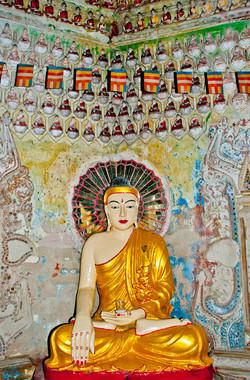 Buddha, Sein Yong Chi Pagoda, Yangon 2007-2