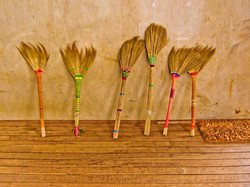Brooms, Inle Lake, Myanmar 2007