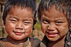 Young Eng Boys, near Kyaing Taung, Myanmar 2008