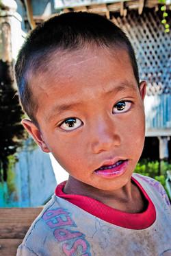 Boy with Bright Eyes, Inle Lake, Myanmar 2008