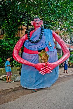 Giant Figure, Yangon 2009