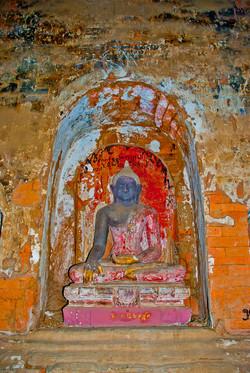 Sitting Buddha, Bagan, Myanmar 2007-4