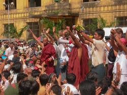 September 2007 Demonstrations, Yangon 2007