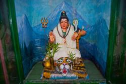 Statue, Hindu Temple, Yangon 2008