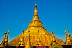 Pagoda, Dalah, near Yangon 2007