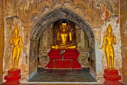 Sitting Buddha, Bagan, Myanmar 2007