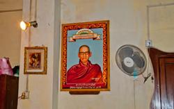 Monk Photos in Monastery, Yangon 2009-2
