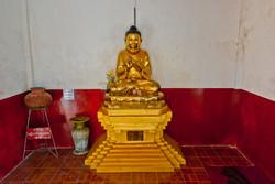 Golden Buddha, Yangon 2008