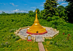 Small Pagoda, Pyay, Myanmar 2008