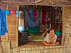 Woman Resting, near Yangon 2007