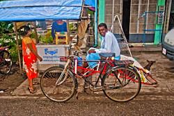 Trishaw Driver, Yangon 2009