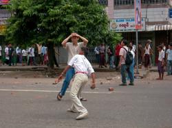 September 2007 Demonstrations, Yangon 2007-7