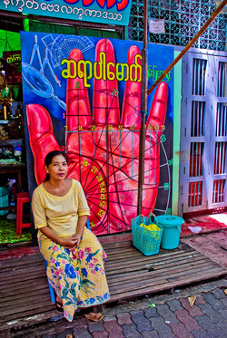 Palm Reader, Yangon 2007