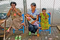 Family, Yangon 2007