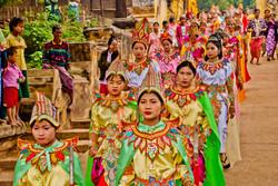 Shinbyu Procession, Inwa (Ava), Myanmar 2007-2