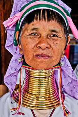 Padaung Woman, Inle Lake, Myanmar 2008