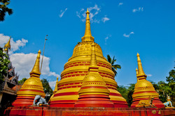 Pagoda, Kyaing Taung, Myanmar 2008