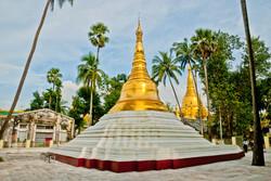 Stupa, Shwedagon Pagoda, Yangon 2009