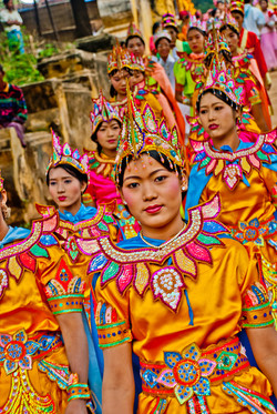 Shinbyu Procession, Inwa (Ava), Myanmar 2007-3