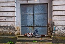 Man Resting in Doorway, Yangon 2008