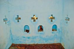 Blue Interior, Paleik, near Madalay 2007
