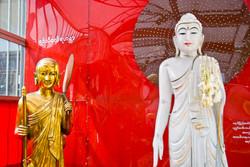 Buddhas, Yangon 2009