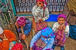 Women Porters, Kyaing Taung, Myanmar 2008