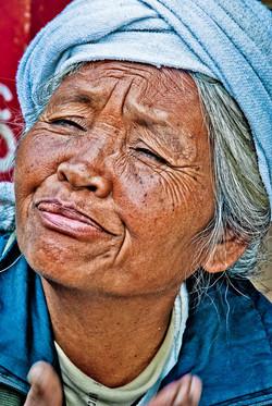 Woman, near Kyaing Taung, Myanmar 2008