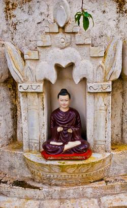 Buddha, Kalaw, Shan State, Myanmar 2007