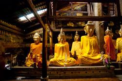 Buddhas, Kyaing Taung (Kengtung), Myanmar 2008