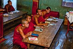 Monastery School, Inle Lake, Myanmar 2008-2