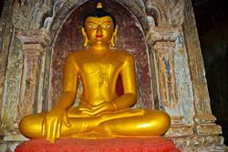 Sitting Buddha, Bagan, Myanmar 2007-2