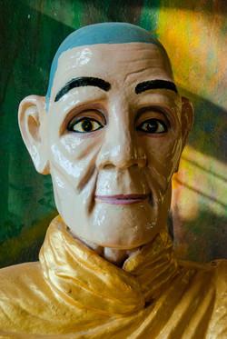 Monk Figure, Yangon 2008