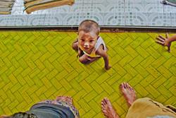 Baby on Floor, Yangon 2007